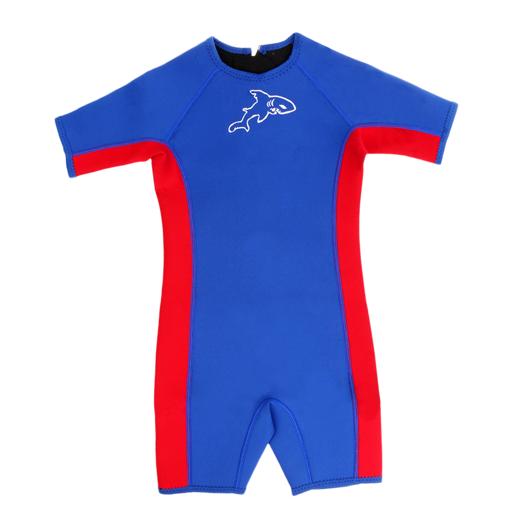 Kids Wetsuit 3mm Premium Neoprene Youth Surfing Swimming Full Back Zipper Spring Suit All Sizes
