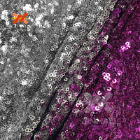 1 Yard Sequin Fabric Elastic Mesh 4 Way Stretch Sequin Fabric Multiple Color Options For Wedding Or Evening Or Dancing Dress