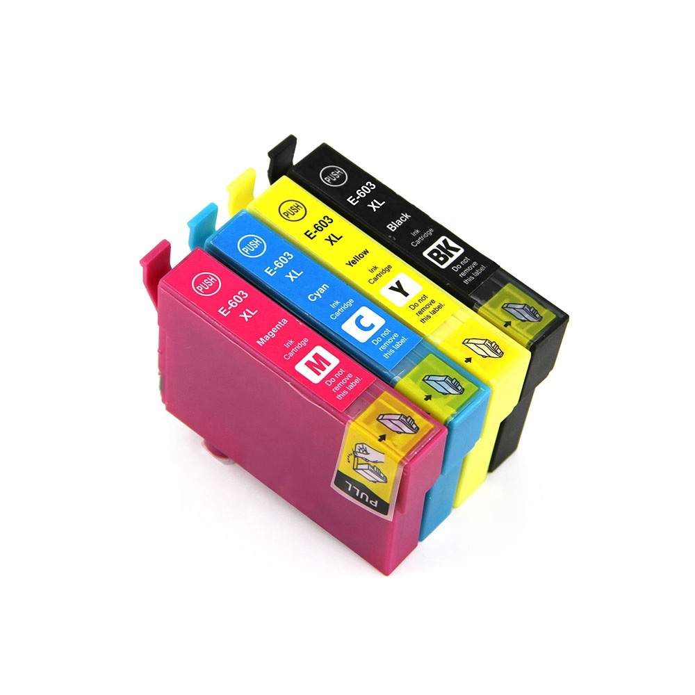 INK WAY 603 Ink Cartridge T03A T03U for <font><b>Epson</b></font> <font><b>XP</b></font>-<font><b>2100</b></font> <font><b>XP</b></font>-2105 <font><b>XP</b></font>-3100 <font><b>XP</b></font>-3105 <font><b>XP</b></font>-4100 <font><b>XP</b></font>-4105 WF-2810 WF-2830 WF-2850 WF-2835 image