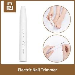 Xiaomi Mijia Showsee elektryczny trymer do paznokci Clipper dziecko bezpieczne paznokci trymer Manicure Cutter Manicure Pedicure podnośniki pielęgnacja paznokci