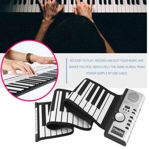 Portable 61 Keys Roll-Up Piano