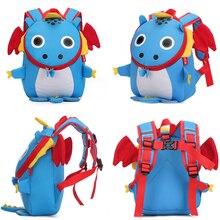 Kids Backpack Children School-Bag Dinosaur Stars Travel Girl Cartoon Kindergarten Fashion