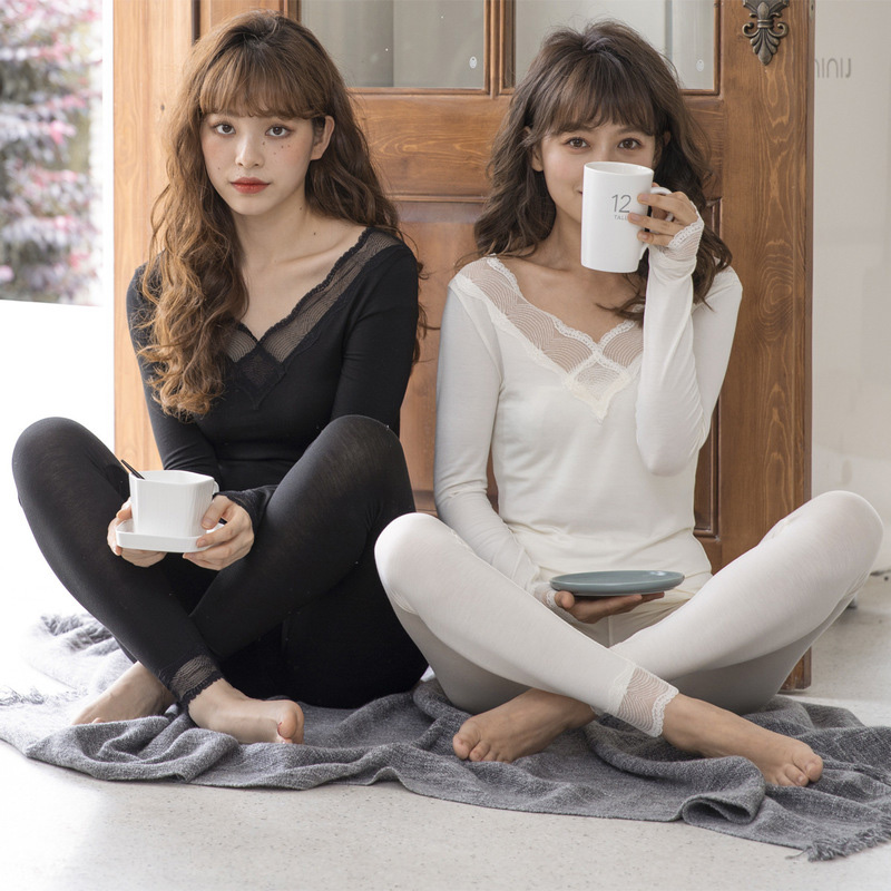 Women Thermal Underwear For Sexy Warm For Women Seamless Winter Thermal Underwear Set Warm Thermos Clothing Women