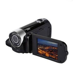 Image 5 - 2.4 Cal monitor TFT 16X Zoom cyfrowy kamera wideo DV HD 1080P ręczna cyfrowa kamera z czujnikiem Cmos do 32 GB S