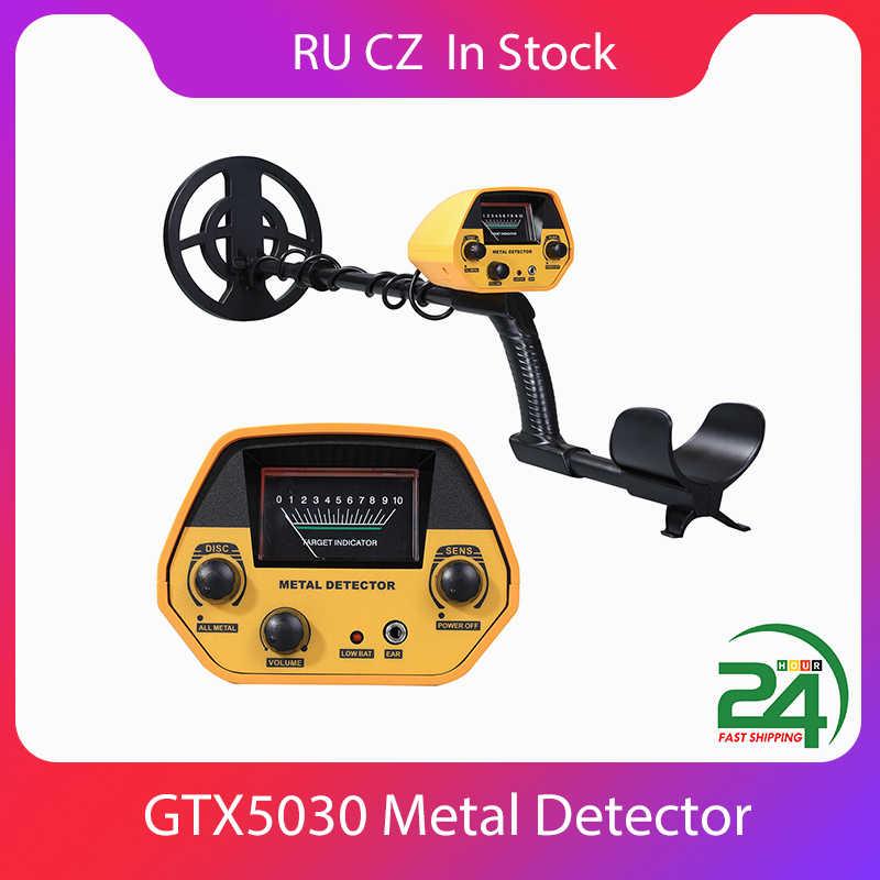 GTX5030 GTX5060 GTX4030 Semua Detektor Logam Tahan Air Profesional Harta Karun Bawah Tanah Pinpointer Portable Emas Kedalaman Detector