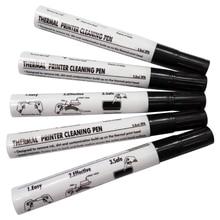 5 Pcs Maintenance Pen Decontamination Pen Printer Printhead Cleaning Pen Label Card Printer Thermal Printer Cleaning Pen