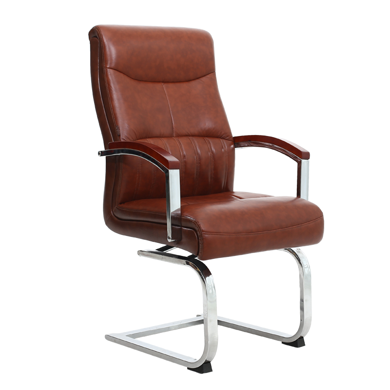 Can Rotate Bow Computer Chair Leather Art Conference Chair Book Chair Clerk Office Chair Boss Chair Household.