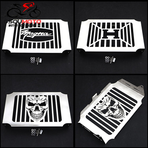 Motorcycle Parts Engine Radiator Cover Water Tank Cooler Grille Guard Fairing Protector For Honda Magna VF 750 VF750 1994 - 2004(China)