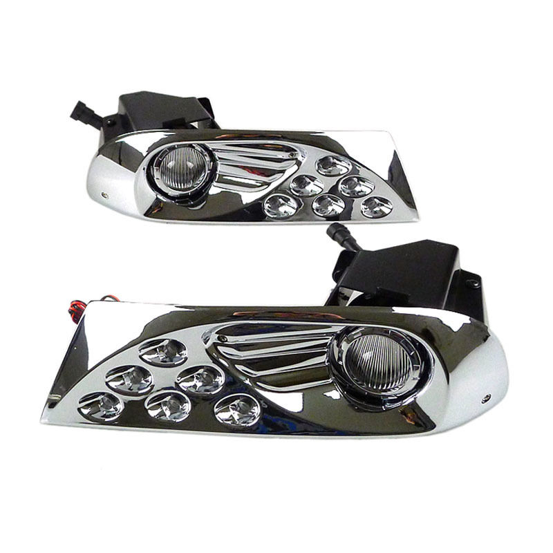 Fog Light Lamp ,55W 4300K LED DRL Auto Daytime Running Light for <font><b>Toyota</b></font> <font><b>Land</b></font> <font><b>Cruiser</b></font> <font><b>Prado</b></font> <font><b>120</b></font> LC120 2003 2004 2005 <font><b>2006</b></font> 2007 20 image