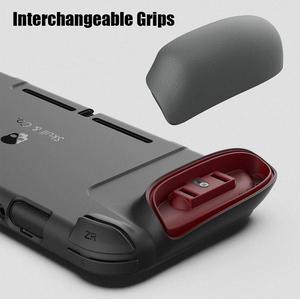 Image 3 - Skull & Co. Gripcase Beschermhoes Cover Shell Met Vervangbare Grips Voor Nintendo Switch