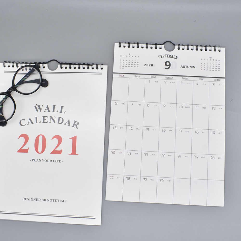 Simple Agenda 2021 Year Household Calendars Wall Calendar Daily Schedule