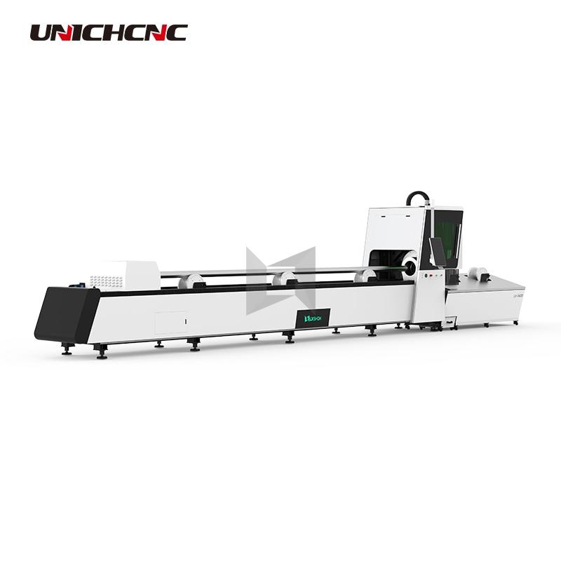 220mm*6m Metal Pipe Laser Cutting Fiber Cutting Machine For Round Tube Square Tube