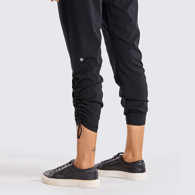 Relaxed and Dry Track Pants Tapered Leg Jogger