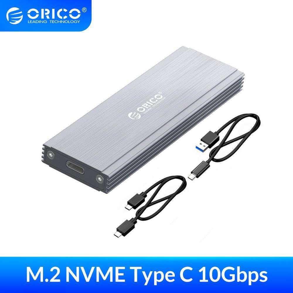 ORICO NVME M.2 корпус SSD чехол USB3.1 GEN2 10 Гбит/с SSD Мобильный коробка для жесткого диска внешний корпус чехол для M2 SSD чехол|Корпус жесткого диска|   | АлиЭкспресс
