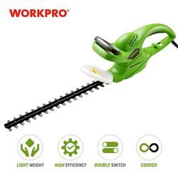 WORKPRO 500 Вт триммер для живой изгороди, электрический ножницы для прополки, домашняя садовая косилка