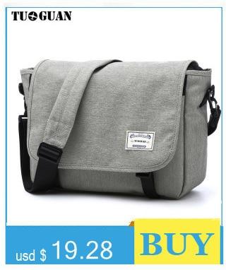 High Quality men canvas bag