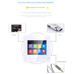 Image 2 - Bluetooth Smart Control Muziek Systeem Plafond Luidspreker Modules Home Audio Systeem Digitale Stereo Versterker In Muur Voor Hotel