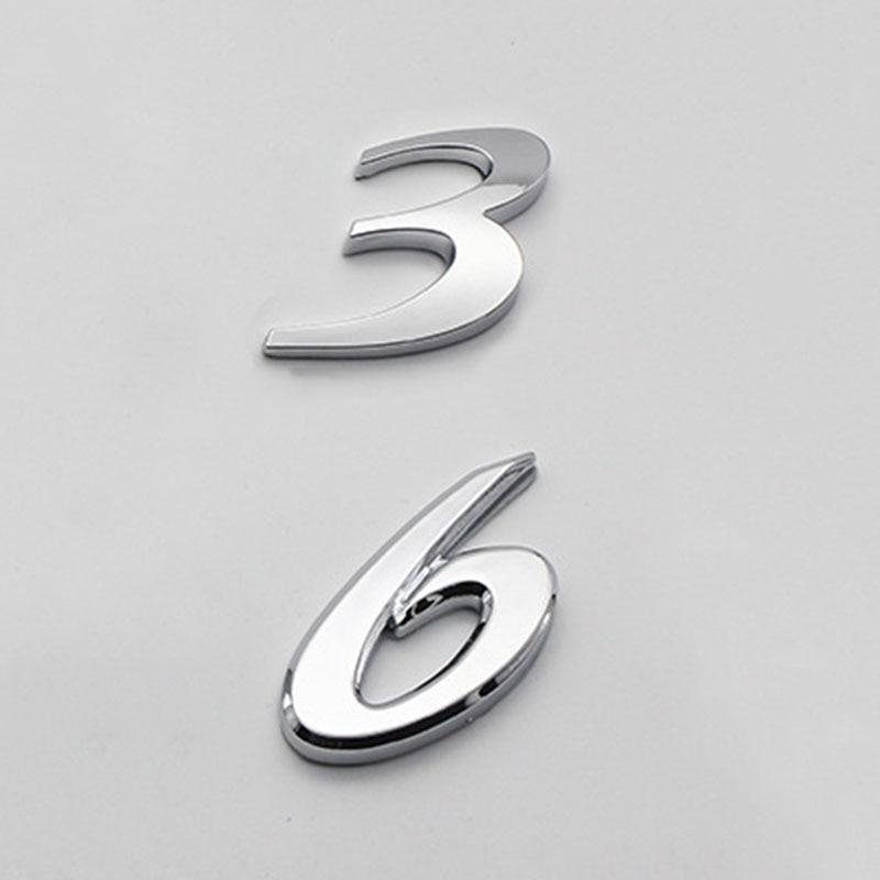 3D Metal Car Trunk Sticker Racing SPORT Word Logo Auto Badge Refitting Emblem