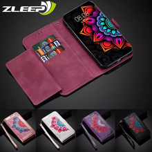 Luxury Leather Wallet Flip Case For Samsung Galaxy A5 A6 A7 J3 J5 J7 2017 2018 EU Card Holder Stand Fashion Phone Bags Cover