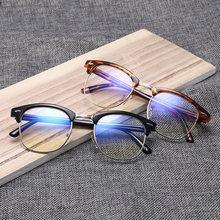 Очки для близорукости с защитой от сисветильник света для мужчин и женщин, готовые очки для близорукости с диоптриями-1 1,5 2 2,5 3 3,5 4 4,5 5 5,5 6
