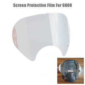 Protective-Film Sticker Respirator Screen-Protector Full-Face-Mask-Accessories 6800 mask-Gas