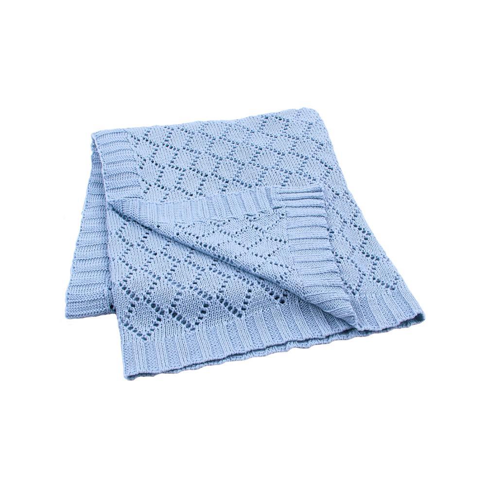 Baby Blankets Knitted Newborns Bebes Swaddle Wrap Blanket 100*80cm Super Soft Infant Stroller Sofa Bedding Covers Toddler Quilts|Blanket & Swaddling| - AliExpress