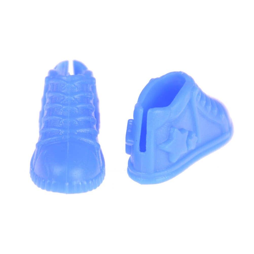4 paires de poupées Sneackers accessoires chaussures de poupée pour filles Ken copain mâle poupée chaussures cadeaux pour Sharon poupée bottes