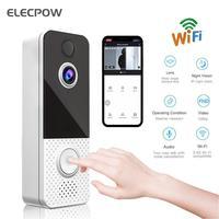 Elecpow 스마트 Doorbell 카메라 비디오 Phoner 링 아파트 IR 1080P 알람 무선 보안 인터콤 T8 WIFI 비디오 초인종
