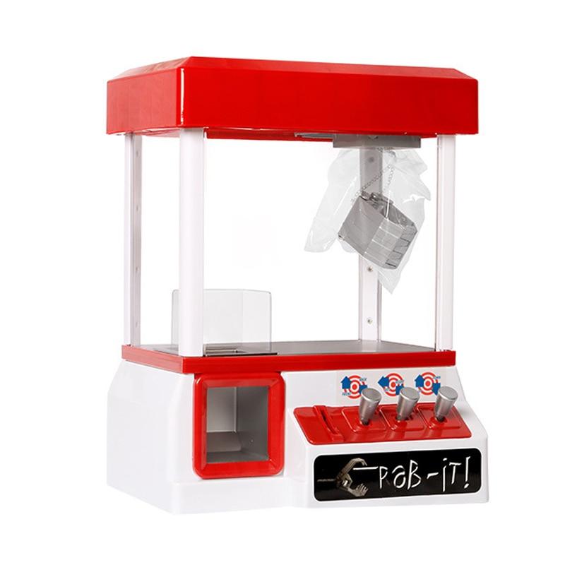 Jogo a fichas da garra da máquina do guindaste de machin do grabber dos doces da música dos brinquedos das crianças para o entretenimento