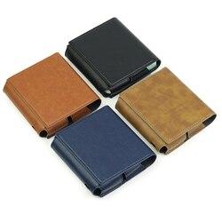 На Алиэкспресс купить чехол для смартфона full protective case portable for e cigarette fashion case pu leather holder cover storage for iqos 3.0