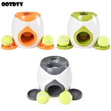 ZT корм для животных интерактивная игрушка для собак теннисный мяч Метатель еда награда машина обучение