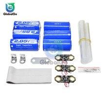 цена на 6pcs /Lot Auto Car Super Farad Capacitors 2.85V 3400F Farad Capacitor Module 17V 566F Single Row Ultracapacitor Protection Board