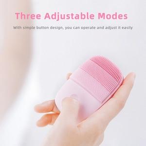 Image 2 - InFace Smart Sonic Sauber Elektrische Tiefe Gesichts Reinigung Massage Pinsel Waschen Gesicht Pflege Reiniger Wiederaufladbare Wasserdicht