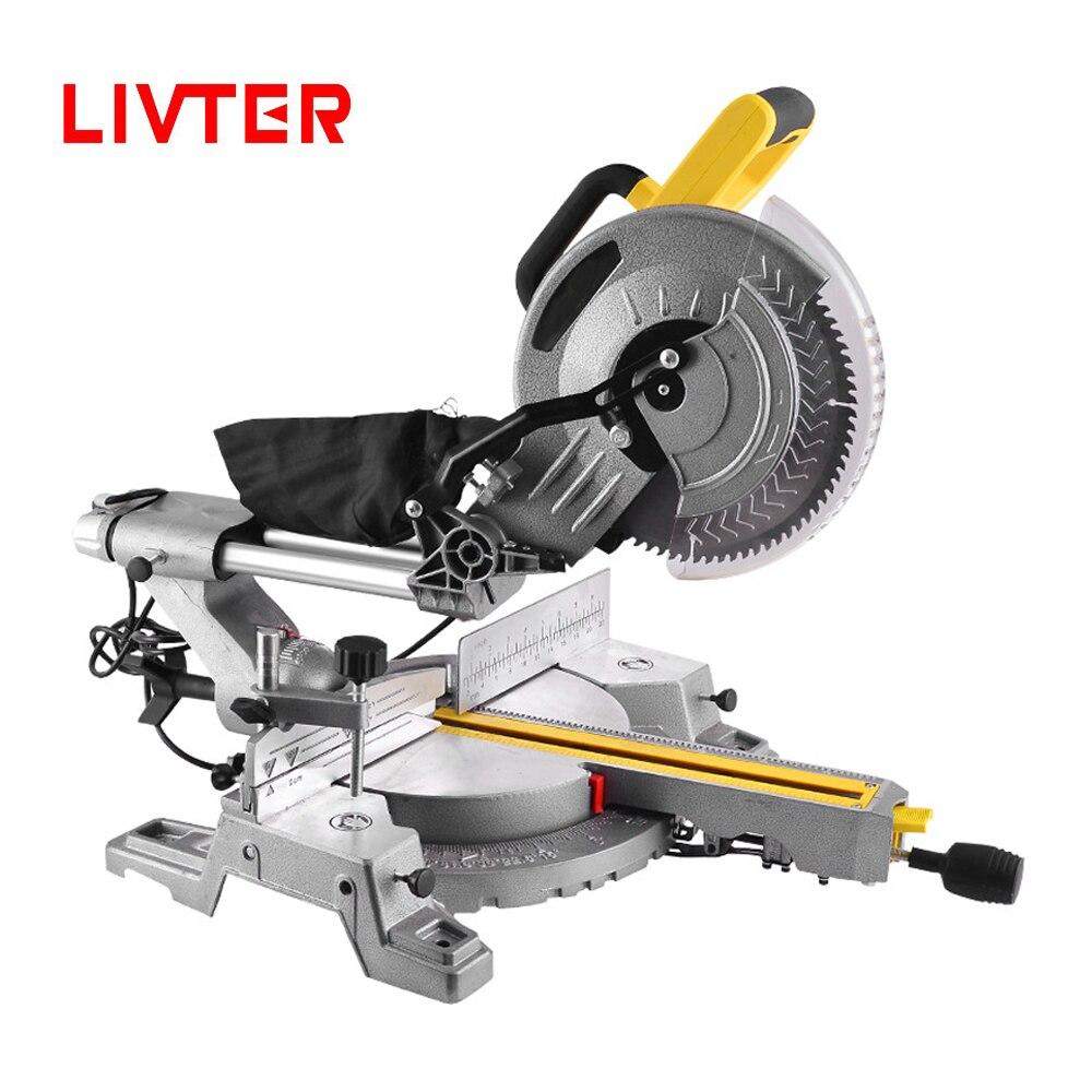 LIVTER профессиональная промышленная раздвижная пила для резки древесины и алюминия, 10 дюймов|Электрические пилы|   | АлиЭкспресс