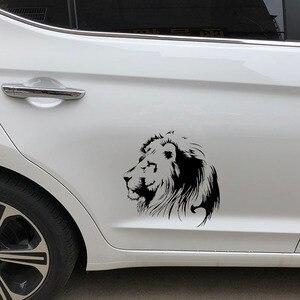 Image 4 - 19.5X20CM מדיטציה האריה ויניל מדבקות לרכב מדבקת אופנוע Individualization רכב סטיילינג S6 2108