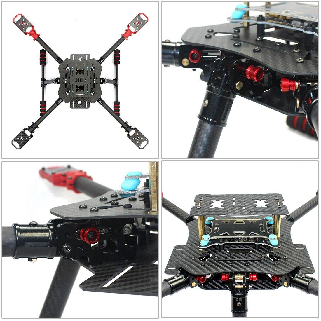 DIY Drone Aircraft-GPS-4 Axis-07