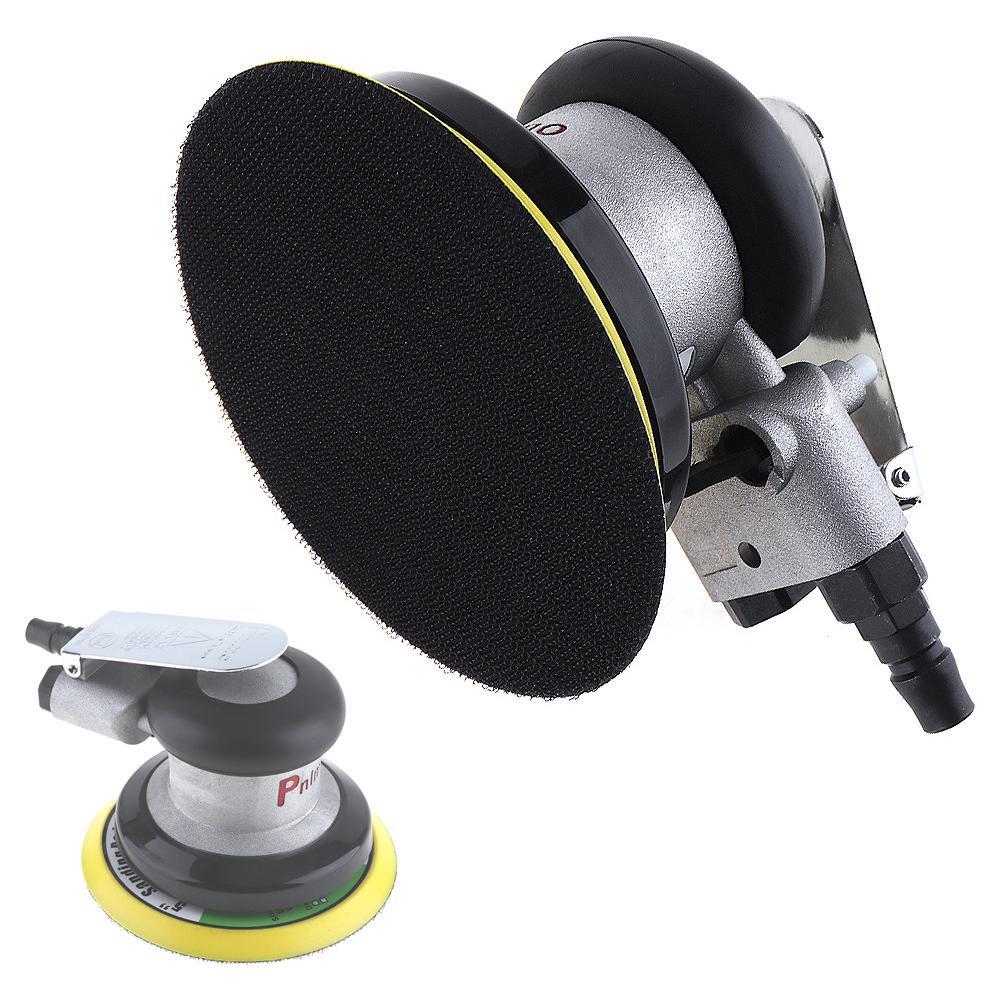 5 Inch Non-vacuum Matte Surface Circular Pneumatic Sandpaper Orbital Air Sander Polished Grinding Machine Hand Tools