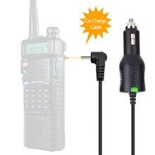 Baofeng UV 5R UV 82 UV S9/9S 플러스 배터리 워키 토키 액세서리와 호환 12V 24V 배터리 자동차 충전기 케이블 라인