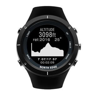 Image 4 - חכם שעונים גברים חיצוני ספורט שעון עמיד למים 50m דיג GPS מד גובה ברומטר מדחום מצפן גובה צפון קצה