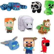 Minecraft – jolies poupées en peluche pour enfants, modèle animal rampant, Pixel, personnage de dessin animé, jouet cadeau en coton