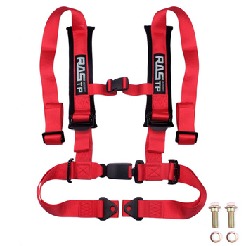 Sports Racing Harness Seat Belt 4 Point Safety Belt Simple Four-point Seat Belt Auto Car Buckle BAG035