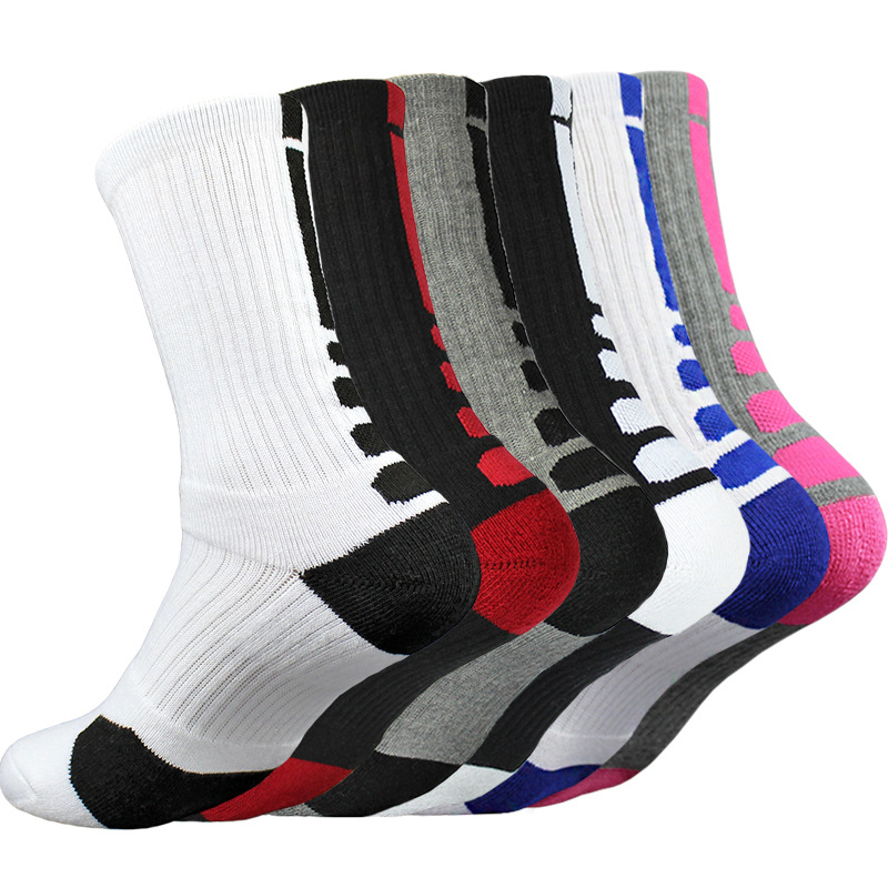 5 Pairs Men Women Football Socks Sports Basketball Anti Slip Socks Winter Boy New Unisex Anti Slip Soccer Running Sweat