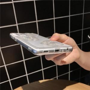Image 5 - Custodia morbida trasparente per telefono con farfalla glitterata per Samsung Galaxy A72 A52 A71 A51 A12 A42 A21S A50 A70 A10 A30 conchiglia carina