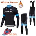 ASTANA 2019 Pro зимние теплые флисовые женские майки для велоспорта Одежда MTB Одежда для велосипеда Ciclismo с длинным рукавом велосипед