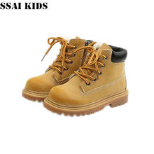 Детские ботинки ssai новинка 2020 детская обувь мартинсы для