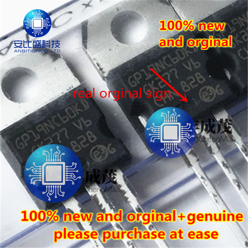 10pcs 100% New And Orginal Real Orginal  STGP19NC60KD GP19NC60KD-220 STGF19NC60KD STGF19NC60KD único IGBT 22A 600V In Stock