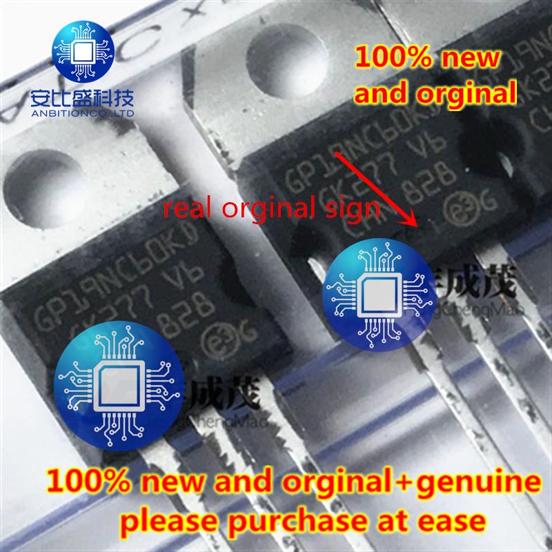 10pcs 100% New And Orginal Real Orginal  STGP19NC60KD GP19NC60KD-220 STGF19NC60KD STGF19NC60KD único IGBT 22A 600V In Stock