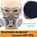 Промышленная газовая маска, краска-распылитель, украшение, полировка, защита от формальдегида, пестицид, химический пыленепроницаемый газ, ...