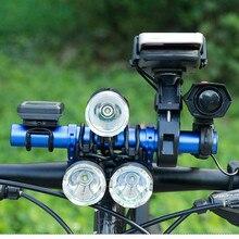 Bike Flashlight Holder Handle Bar Bicycle Accessories Extender Mount Bracket Road Motorcycle Mobile 8.13
