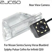 цена на ZJCGO Car Rear View Reverse Back Up Parking Camera for Nissan Sentra Sunny Versa Bluebird Sylphy Pulsar Cefiro for Infiniti Q50